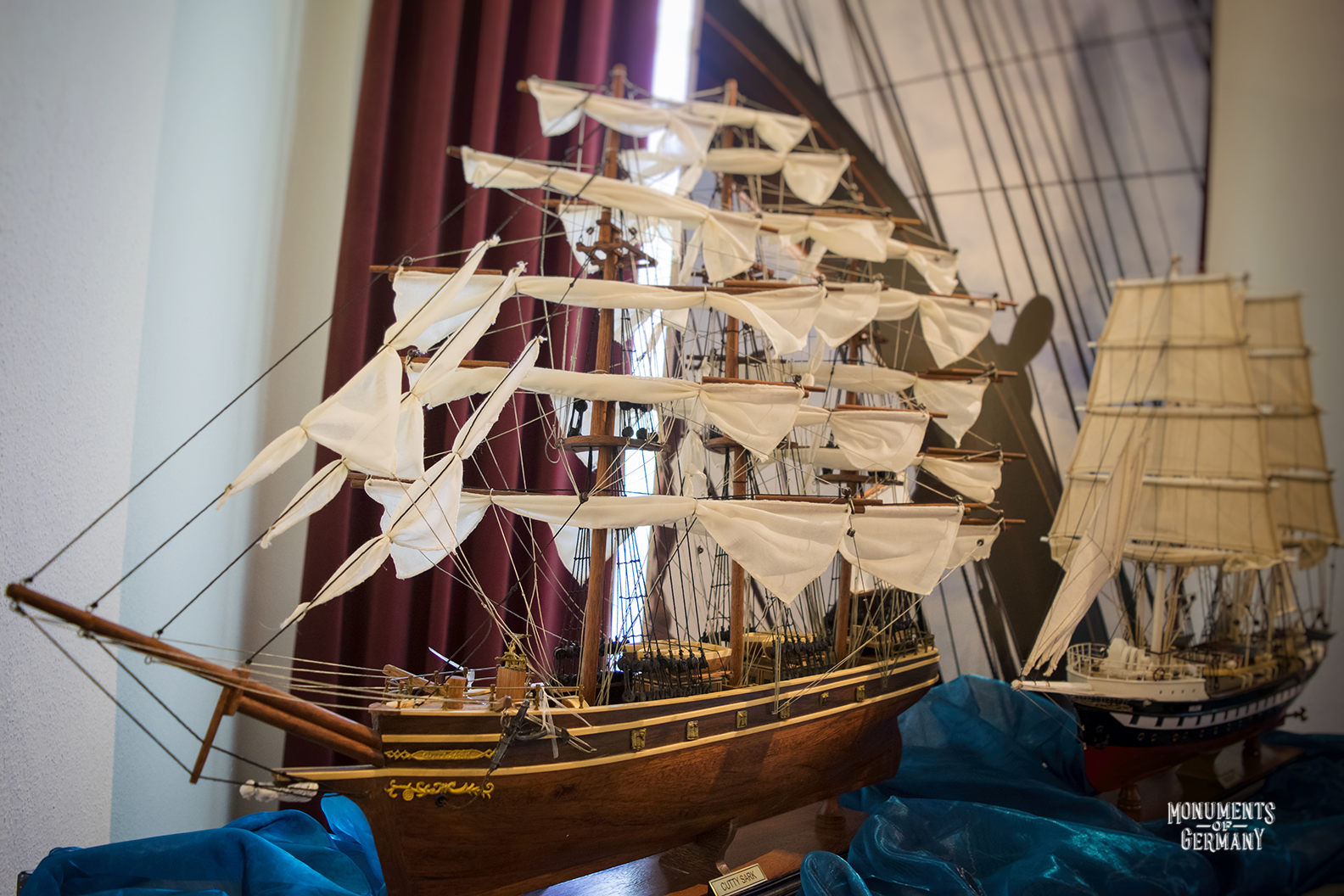 Sisi Castle ship model.