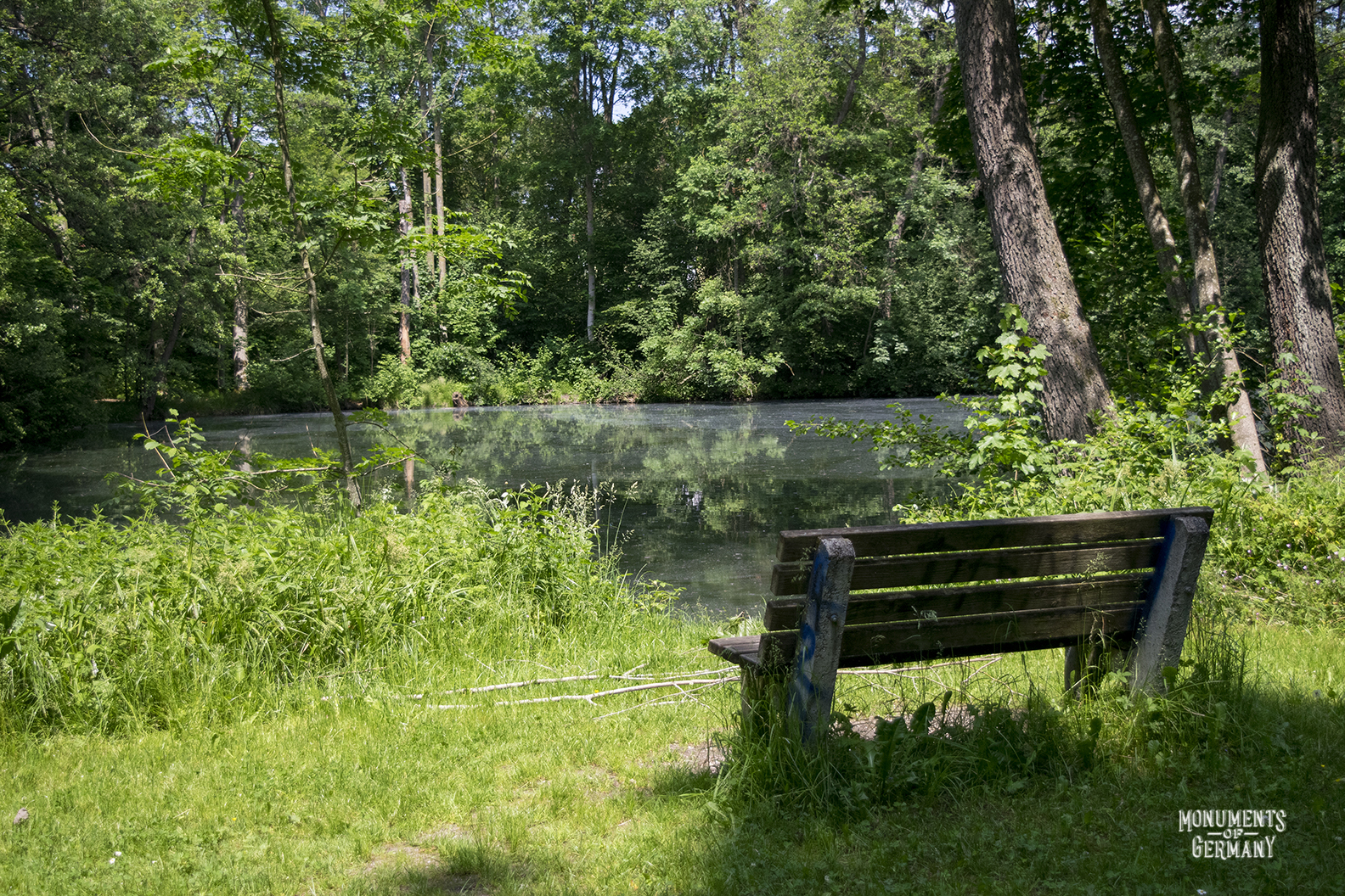 Sisi Castle bench.