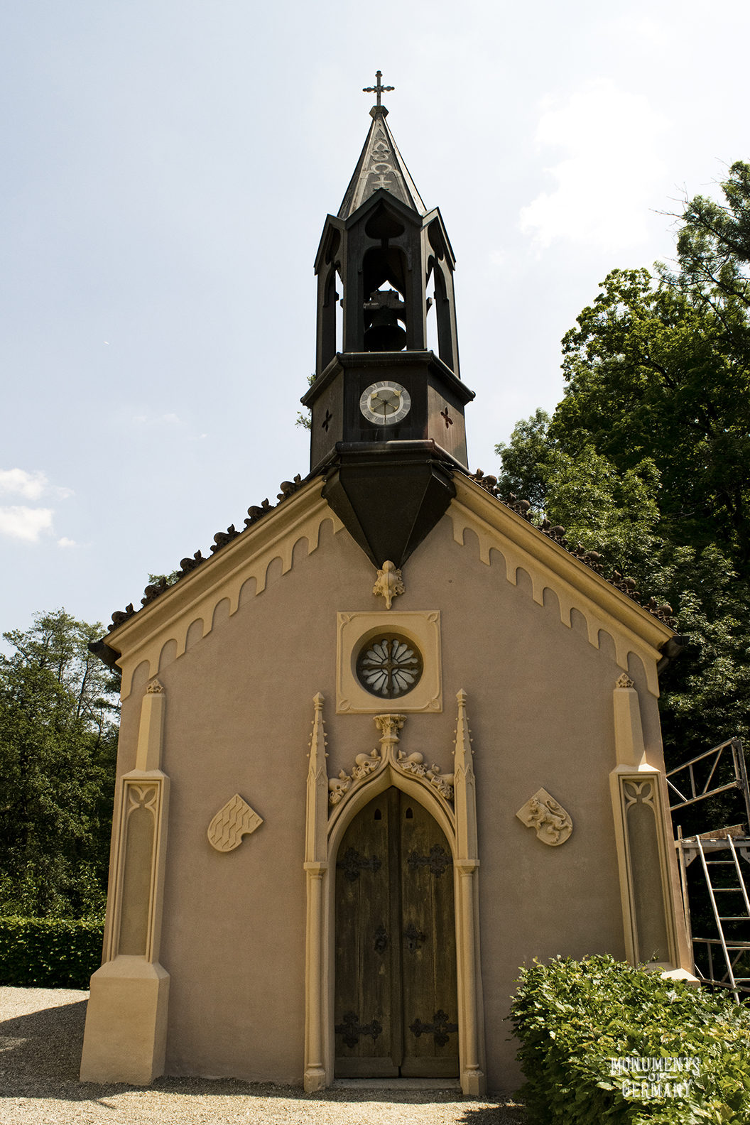 Sisi castle chapel