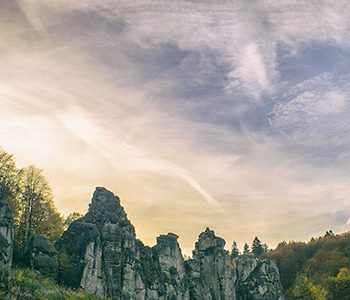 Externsteine – A Wonder of Nature in Teutoburg Forest